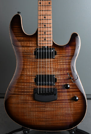 2020 Ernie Ball Music Man Sabre Cobra Burst