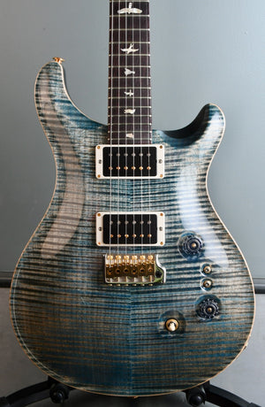 2020 PRS Custom 24 35th Anniversary Faded Whale Blue 10 Top