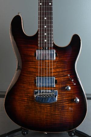 2020 Ernie Ball Music Man Sabre Bougie Burst