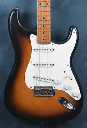 1955 Fender Stratocaster Two Tone Sunburst