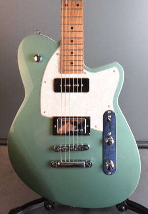 2020 Reverend Double Agent OG Metallic Alpine