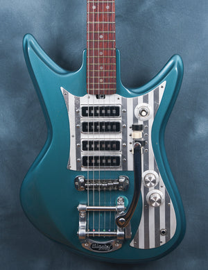 1966 Teisco Del Rey ET 460/4KL Blue Metallic