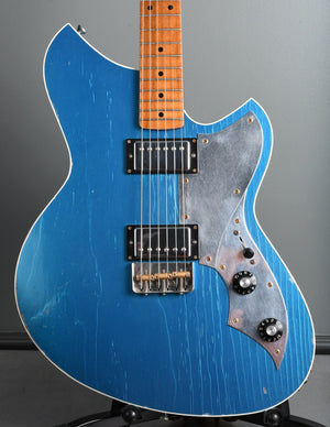 2019 Novo Guitars Serus TC Lake Placid Blue, maple neck, Lollar Imperial's!