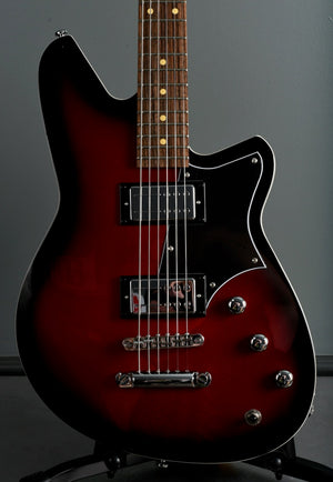 2020 Reverend Descent RA Red Burst