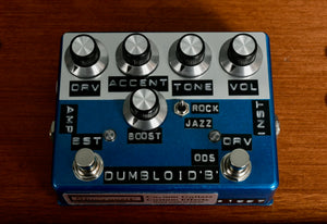 Shin's Music Dumbloid ODS with Boost Candy Blue