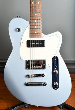 2020 Reverend Double Agent OG Metallic Silver Freeze