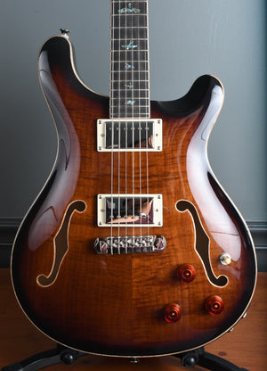 2020 PRS SE Hollowbody II Piezo Black Gold