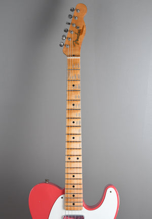 2014 Fender Custom Shop '50's Telecaster Relic Fiesta Red