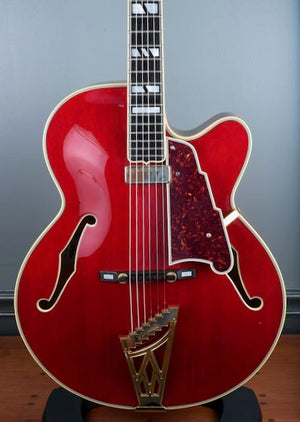 Early 2000's D'Angelico New Yorker NYL-2 Vintage Cherry (Vestax)