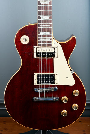 1978 Gibson Les Paul Deluxe Humbucker Conversion Wine Red OHSC