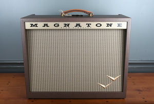 Magnatone Panoramic Stereo 2x10 Combo Vintage Brown