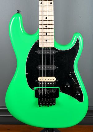 Ernie Ball Music Man BFR Cutlass HSS Floyd - Lime #18/40