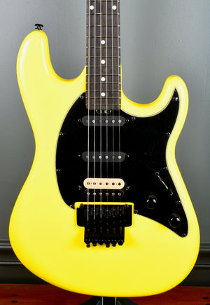 Ernie Ball Music Man BFR Cutlass HSS Guitar, Ebony Fretboard, Lemon #11 / 35