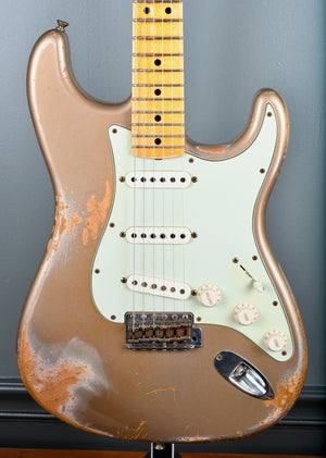 2013 Fender Custom Shop Heavy Relic 1969 Stratocaster Shoreline Gold