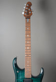 2019 Ernie Ball Music Man John Petrucci JP15 Teal Burst Ball Family Reserve