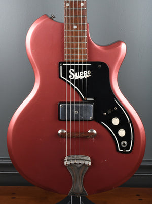 1962 Supro Kingston, rare Copper color