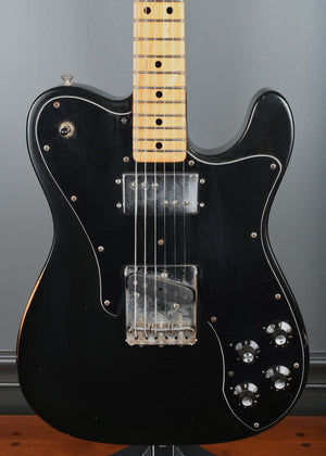 1973 Fender Telecaster Custom *Custom Color* Black OHSC