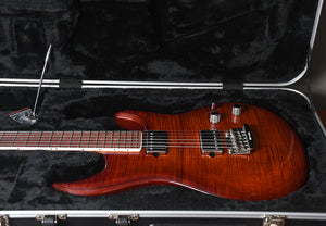 2018 Ernie Ball Music Man Luke III BFR Steve Lukather Signature Hazel Burst