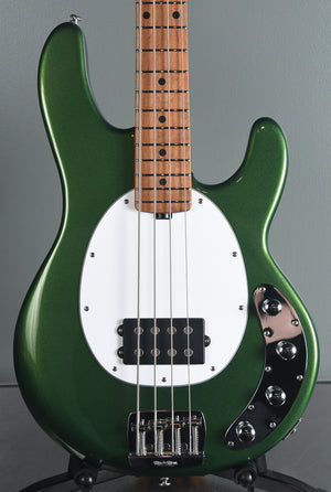 2019 Ernie Ball Music Man Sting Ray Special 4 String Charging Green