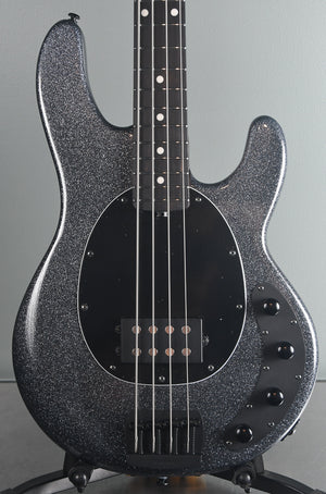 2019 Ernie Ball Music Man Sting Ray Special 4 String Charcoal Sparkle