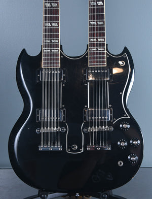 1974 Gibson EDS 1275 Double Neck Ebony OHSC