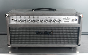 2019 Two Rock Silver Sterling Signature 100 Watt Head Grey Suede