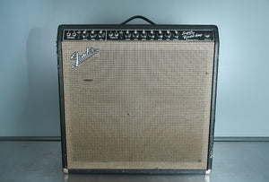 1964 Fender Super Reverb Black Tolex