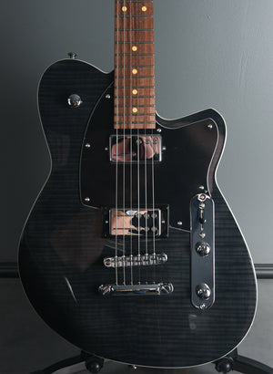 2019 Reverend Charger RA Trans Black Flame