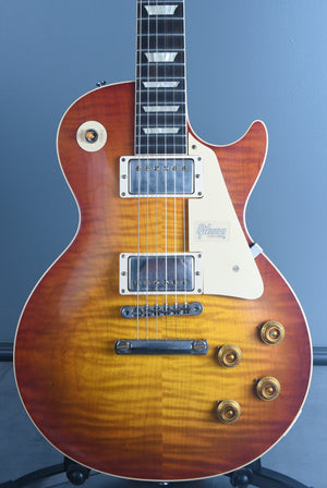 2019 Gibson 60th Anniversary Les Paul 1959 R9 Reissue Sunrise Teaburst VOS