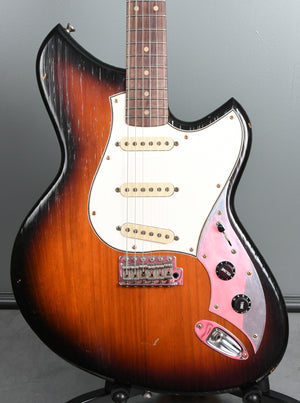 2019 Novo Guitars Serus S Firebird Burst