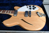 1966 Rickenbacker 360/12 String Maple Glo OHSC