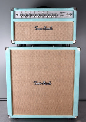 "2020 Two Rock Classic Reverb NAMM Rig 100w Head & 4x10"" Cab Mint Suede"
