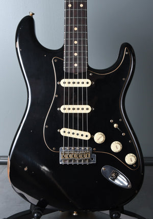 2020 Fender Custom Shop Limited Edition Roasted Poblano Stratocaster Black Relic