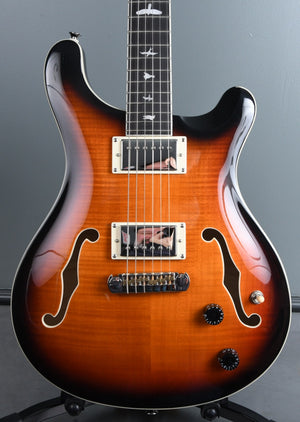 2020 PRS SE Hollowbody II Tri Color Sunburst