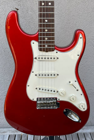 1966 Fender Stratocaster Candy Apple Red