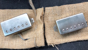 Model 1959 - Virgil Arlo P.A.F. Humbucker Set - Vintage Nickel Covers