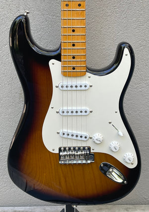 "2020 Fender Stories Collection Eric Johnson 1954 Stratocaster ""Virginia"" Sunburst"
