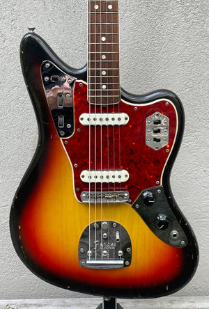 1965 Fender Jaguar Sunburst OHSC
