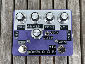 Shin's Music Dumbloid BTM with Boost Purple Suede