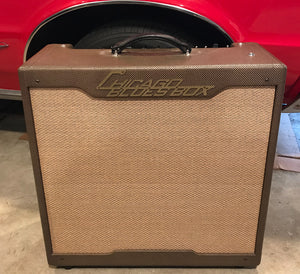 2006 Chicago Blues Box Buddy Guy Signature # 9 Tweed 4x10 Combo