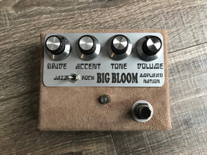 Amplified Nation Big Bloom Overdrive Pedal Dogwood Suede