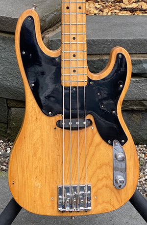 1969 Fender Telecaster Bass Stripped Natural Finish