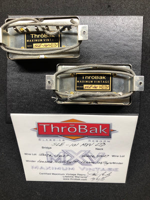 ThroBak SLE-101 MXV Ltd PAF set with aged Nickel covers