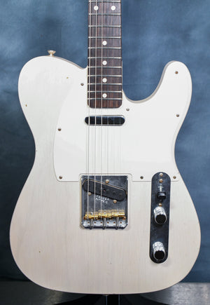 2020 Fender Custom Shop '59 Telecaster Journeyman Relic White Blonde