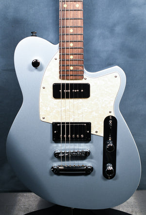 Reverend Double Agent OG Metallic Silver Freeze