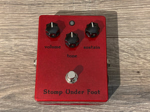 "Stomp Under Foot 1973 Rams Head ""Kit Rae"" #6 Red Sparkle"