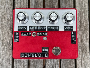 Shin's Music Dumbloid 335 Special Red Suede