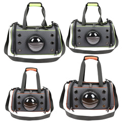 Capsule Shape Breathable Handbag For Puppy Outdoor Travel