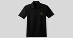 Lonerider Spirits Black Performance Polo Shirt