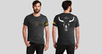 Lonerider Spirits Black MENS Short Sleeved T-shirt